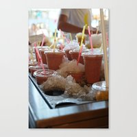 Drink It - Summer Is Com… Canvas Print
