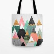 Pretty Mountains Tote Bag