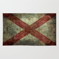 Alabama State Flag Rug
