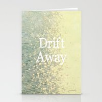 Drift Away  Stationery Cards