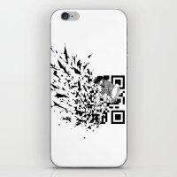 Break A (QR) Code iPhone & iPod Skin
