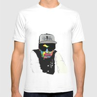 WPAP#2 Mens Fitted Tee White SMALL