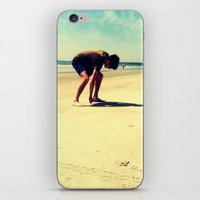 The Artist At Work iPhone & iPod Skin