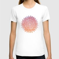SPRING MANDALIKA Womens Fitted Tee White SMALL