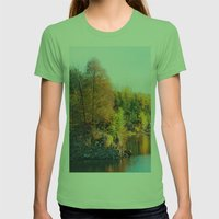 Changing Color Womens Fitted Tee Grass SMALL