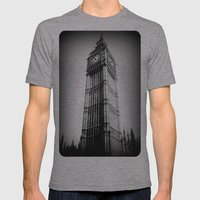 Ben looms in black and white, too. Mens Fitted Tee Athletic Grey SMALL
