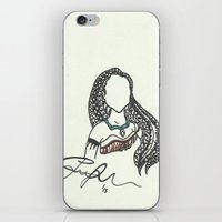 Pocahontas Zen Tangle iPhone & iPod Skin