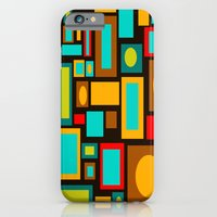 iPhone & iPod Case featuring Black Mod by Crash Pad Designs