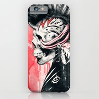iPhone Cases featuring PUNK by Ali GULEC