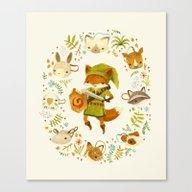 The Legend Of Zelda: Mam… Canvas Print