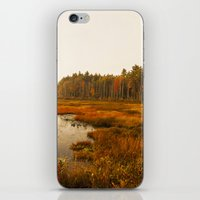 Autums Peaceful Tomorrow - New England Fall Landscape iPhone & iPod Skin