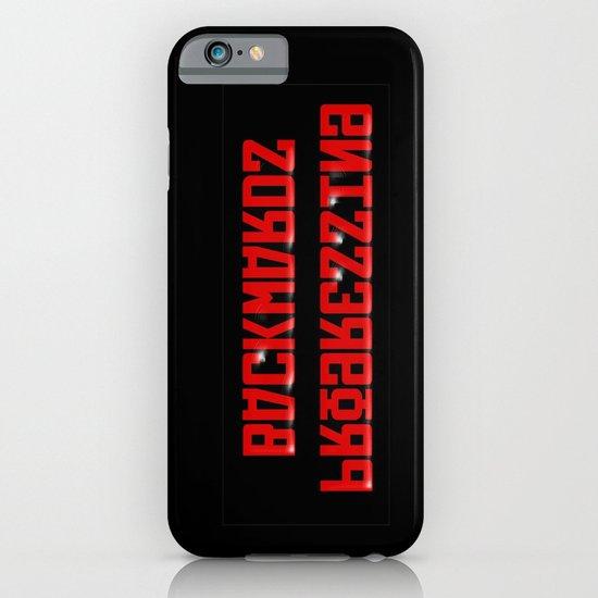 Progressing Backwards (reversed out) iPhone & iPod Case