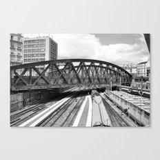 Paris gare de l'Est  Canvas Print