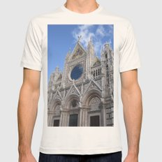 Siena Cathedral Mens Fitted Tee Natural SMALL