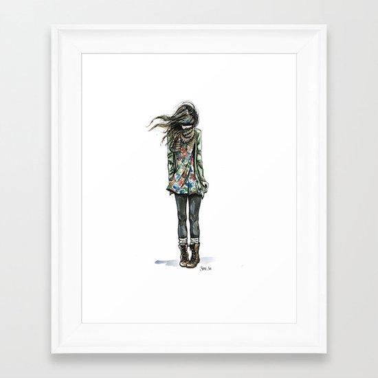 Hold on Tight Framed Art Print