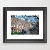 Oscar Wilde Framed Art Print