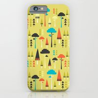 iPhone & iPod Case featuring The Yellow Forest by Tove Andersson