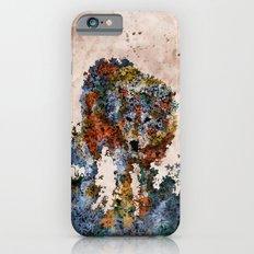 Floral Animals Wolf iPhone 6 Slim Case