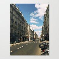 Sunny Day in Le Marais Canvas Print