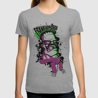 Frankhipster Womens Fitted Tee Athletic Grey SMALL