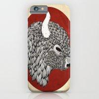 iPhone & iPod Case featuring The Buffalo by eve orea