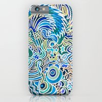 A Snowflake and Angels Wings - a rokinronda Abstract iPhone 6 Slim Case