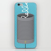 Can You Hear Me? iPhone & iPod Skin