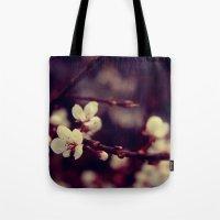 Deep Blossom Tote Bag