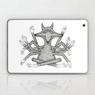 Strange Ratfox Laptop & iPad Skin