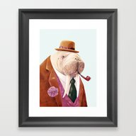 Walrus Framed Art Print