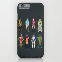 Glow in the Dark Naughty Starwars Lightsabers  iPhone 6 Slim Case