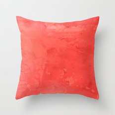 Electric Watercolor Throw Pillow