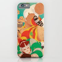 iPhone & iPod Case featuring Rugbear by Dronio