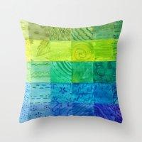 Bali Quilt Throw Pillow