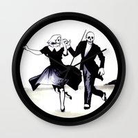 Skeleton Swing Wall Clock