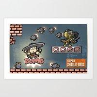 Super Shaolin Brothers! … Art Print