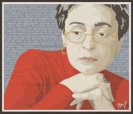Anna Politkovskaja Art Print