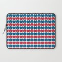 Hob Nob America Stripes Laptop Sleeve