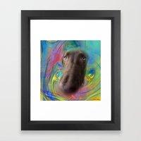 Poking Through Framed Art Print