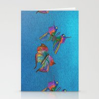 Butterflies and Blue Skies Stationery Cards