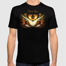 Dare Me! Mens Fitted Tee Black SMALL
