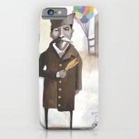 iPhone & iPod Case featuring Alferd Packer's Uneaten Corn Dog by Elisa Wikey