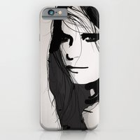 iPhone & iPod Case featuring Face- Vogue by Allison Reich