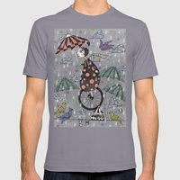Rainbirds Mens Fitted Tee Slate SMALL