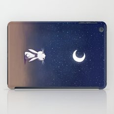 Moon Bunny iPad Case