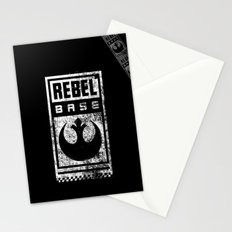 Rebel Base Stationery Cards