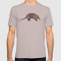 armadillo Mens Fitted Tee Cinder SMALL