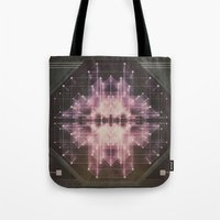 Explosive field Tote Bag