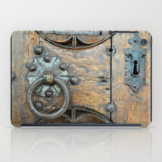 Church door iPad Case