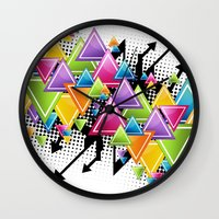 Vector Funk!  Wall Clock